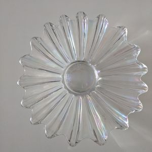 Vintage Iridescent Glass Bowl Federal Glass